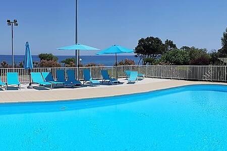 Villa T4 2017 climatisée 3 chbres 3mn de la plage