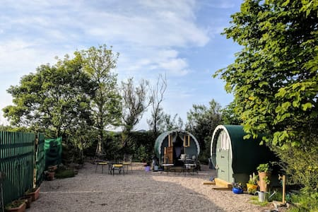 The Lily Pod ,Gypsy caravan/shepherds hut,Hot Tub