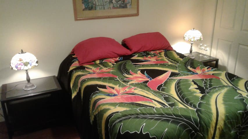 Bedspreads imported from Indonesia