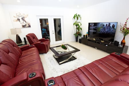 MODERN PRIVATE SINGLE FLOOR INCLUDES GYM - Miami - Ev