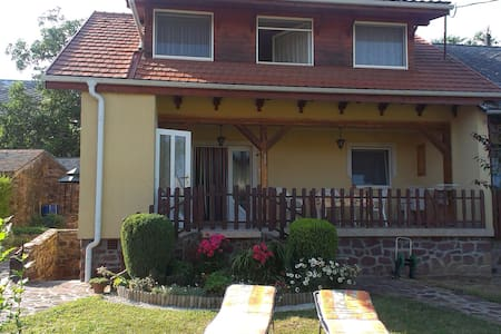 Beautiful accommodation with garden - Balatonszepezd - Lejlighed
