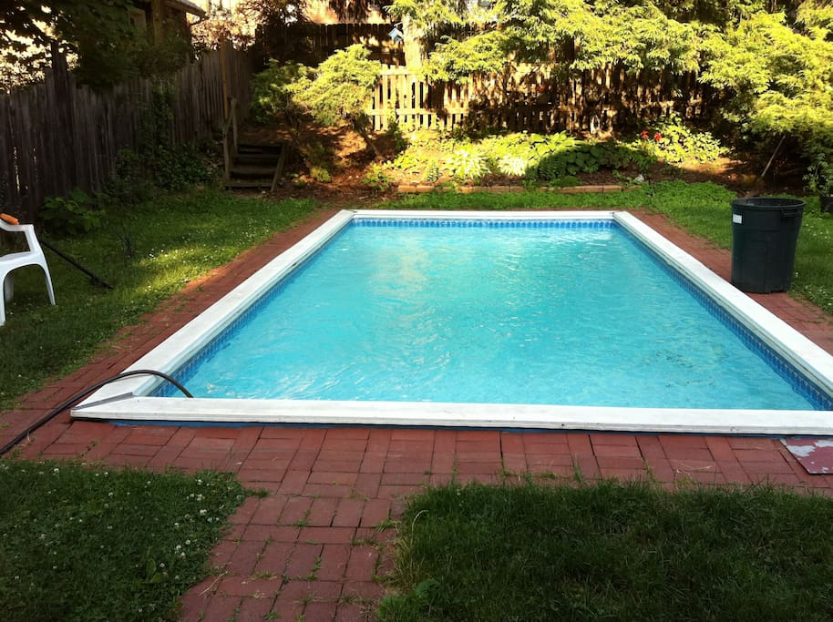 Pool will be up in running for your stay.