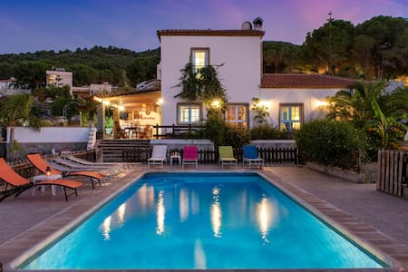 Beautiful Andalusian villa with heated pool