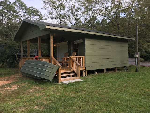 A Bayou Fish Camp for two (sorry, no pets)