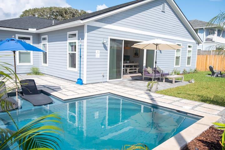 BRAND NEW! 3bd/3ba Beach Home w/Pool