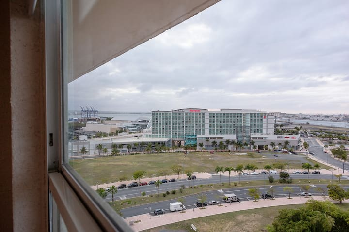 Convention Center Within View from window.