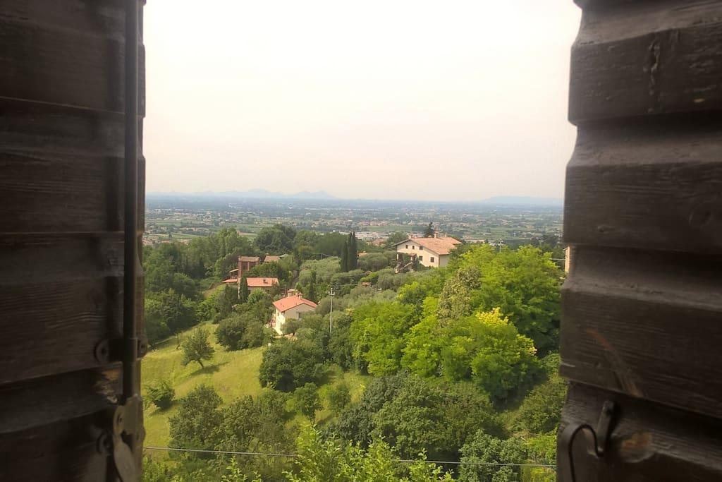 Wonderful view from windows
