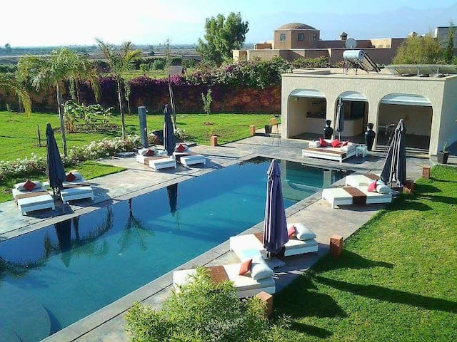 Villa contemporaine et écologique 5 chambres - Marrakesh - Villa