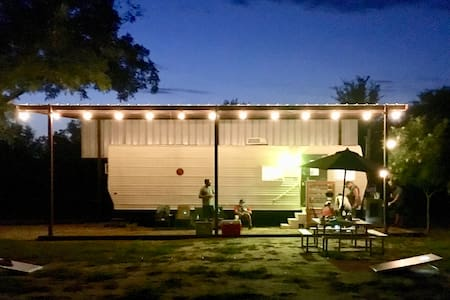 Glamping at Brazos Rock Camp & Kayak