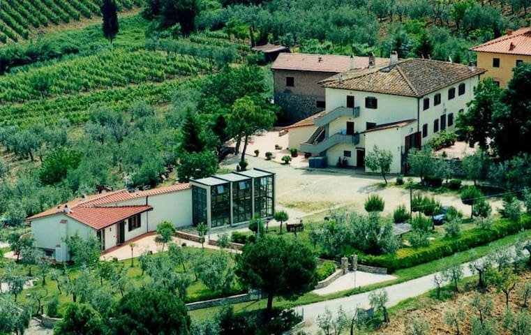 Il tuo appartamento nel cuore del Chianti - San Casciano in Val di pesa - Apartament