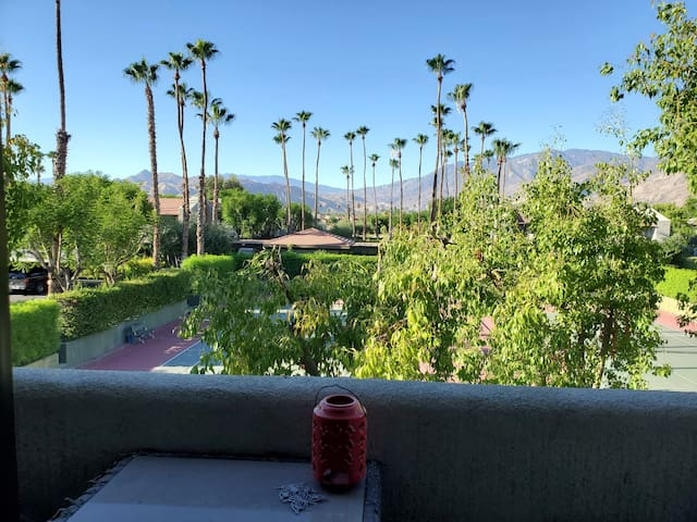 Central Palm Springs with amazing mountain views