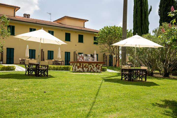 Best 1 bdrm apt 1st floor @ Agriturismo in Tuscany