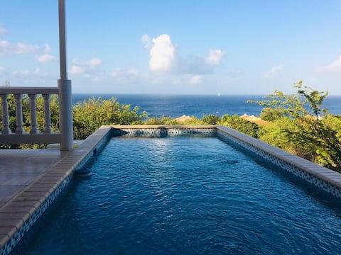 Villa Bianca avec vue sur mer
