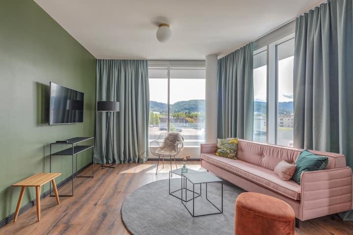 Apartment Black XL in Freiburg im Breisgau