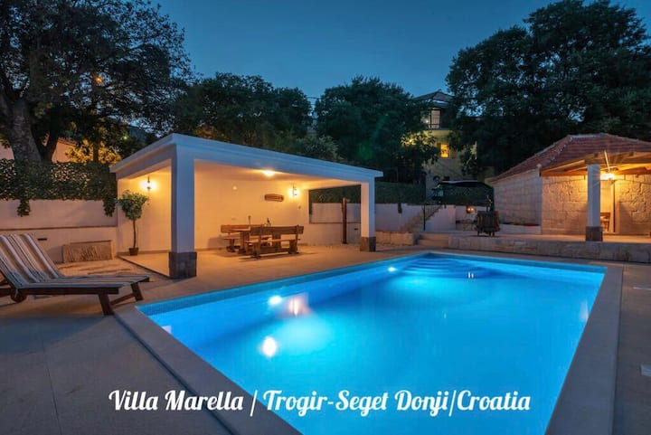 VILLA MARELLA WITH   HEATED SWIMMING POOL