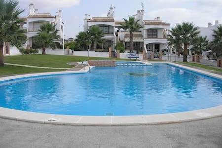 Lovely 3 bedroom townhouse near sea and golf - Orihuela