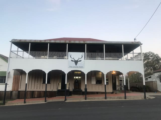 Come and stay at the historic Linville Hotel
