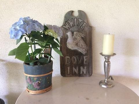 White Dove Inn, private studio at our home