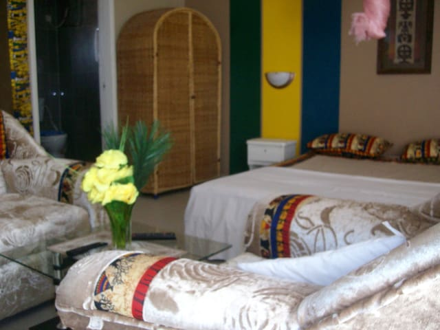 Bamboo Guest house The Gambia - Stallwang - Skur