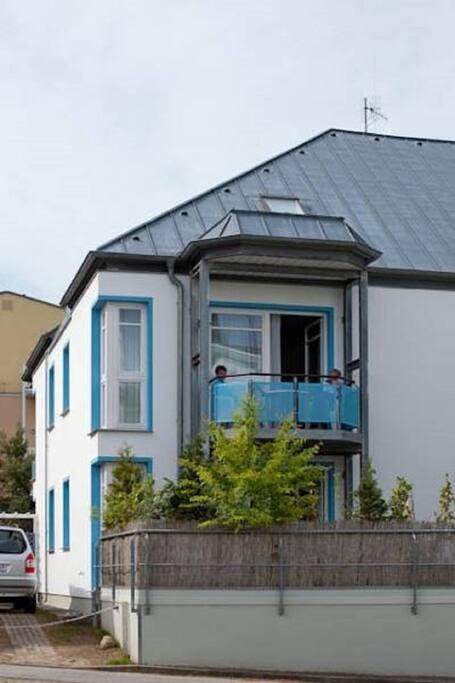 Außenansicht Haus Buchenhof