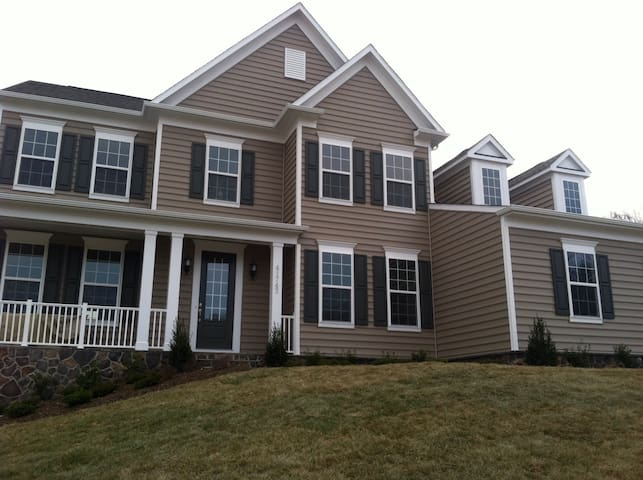 Scenic private home in historic Leesburg, VA