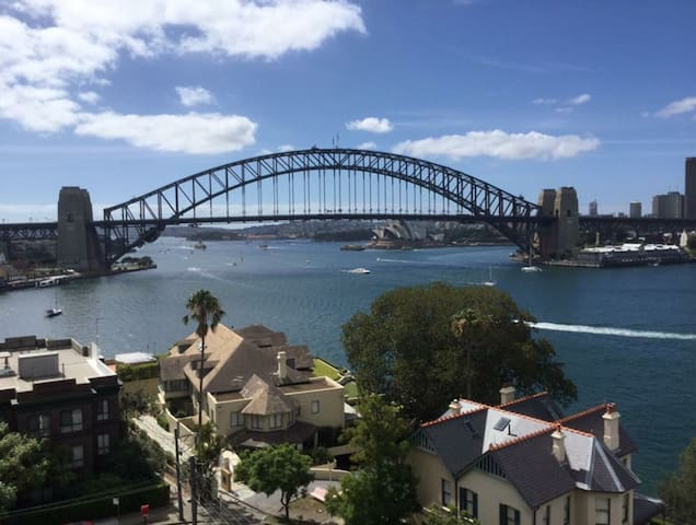 Wake up to Sydney Harbour view - McMahons Point - Departamento