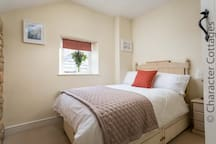 Bedroom 2, another lovely room, with a 4ft double bed