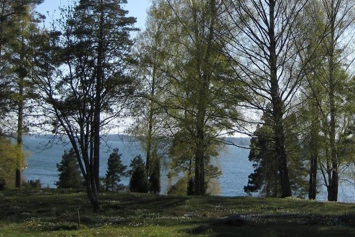 Spacious cottage on semi-private island