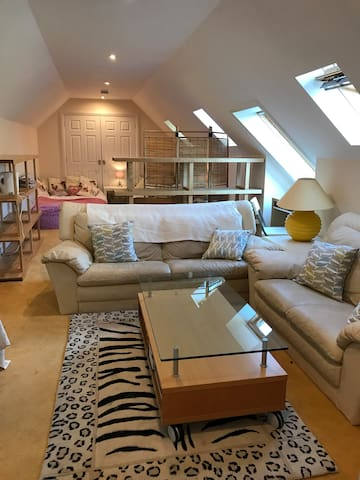 Attic Suite sleeps up to 8 - Cardiff - House