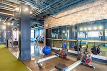 In Building Fitness Center
