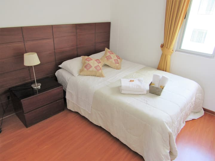 Private Room and Bath in Miraflores. BEST Location