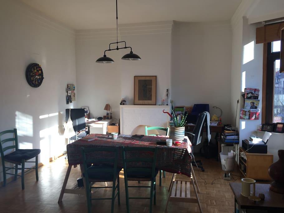 Salon - Salle à manger / Livingroom - diningroom