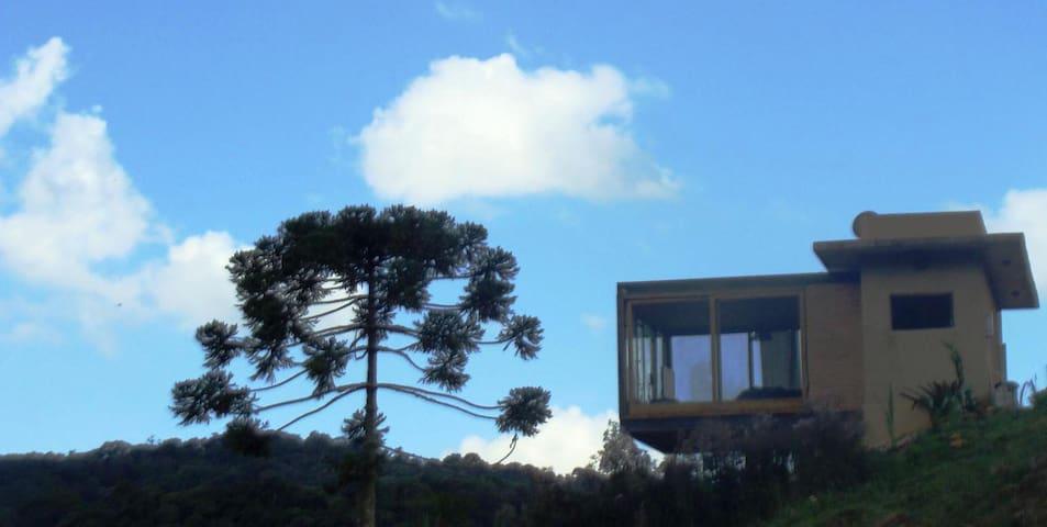 Bangalôs do Sertão: Casa em meio a Natureza - Gonçalves - Blockhütte