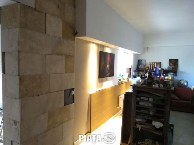 Great studio with panorama near shopping center