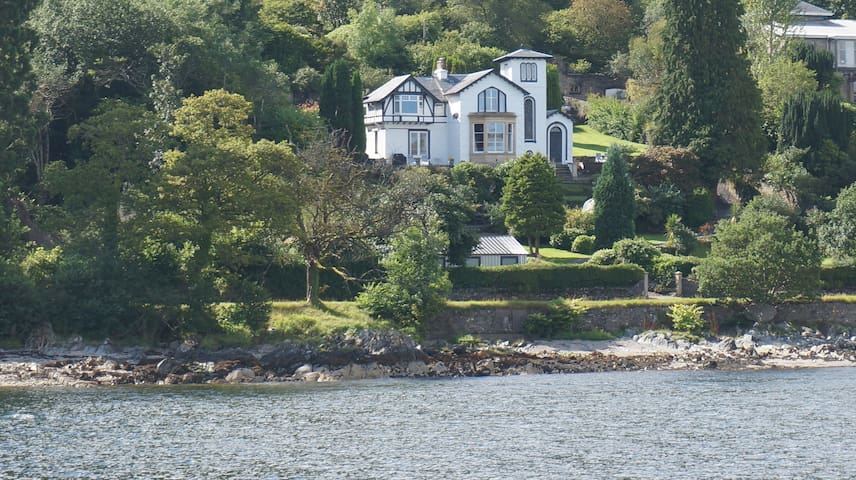 DUART TOWER, a historic tower house on Loch Long