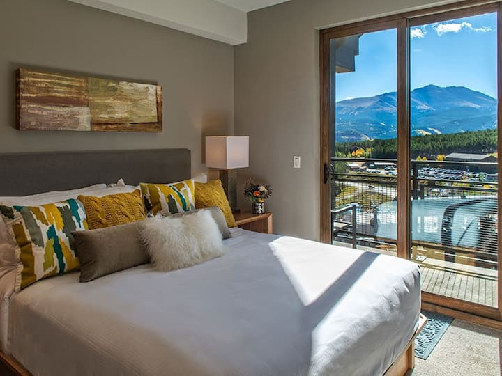 World class suite directly on the mountain