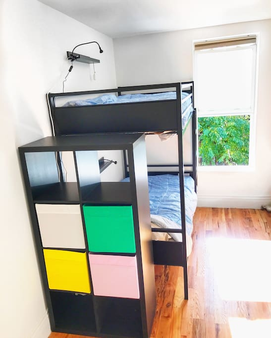The second room for 2 people with bunk-bed