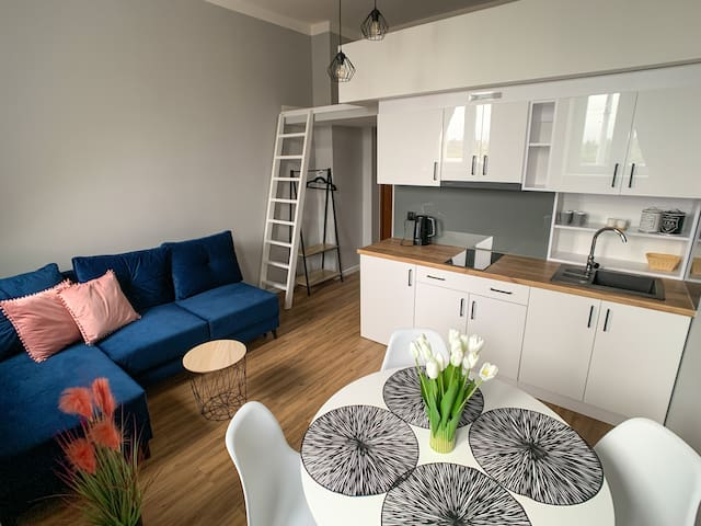 Kolna Apartment 1A with river view