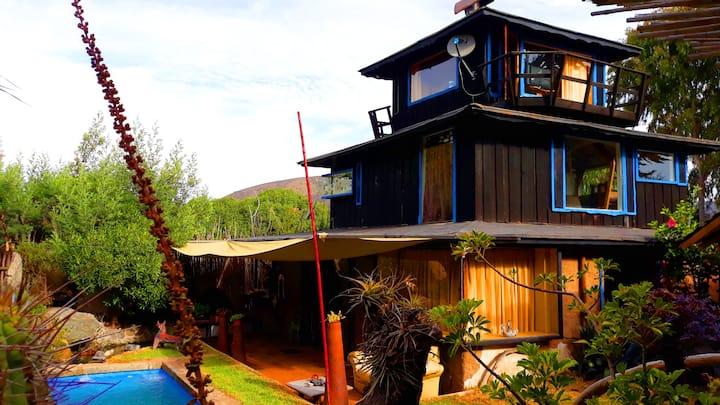 Casa Rustica Maitencillo