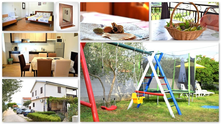 LUISA- apartment for family vacation