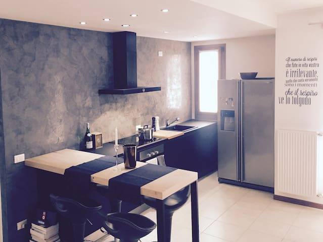 Easy To Venice by Train: New Modern&Spacious Flat. - Lancenigo - Apartment