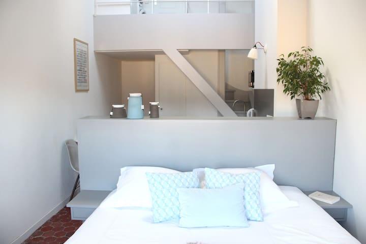 Studio rénové Van Gogh, quartier Mazarin - Aix-en-Provence - Apartamento