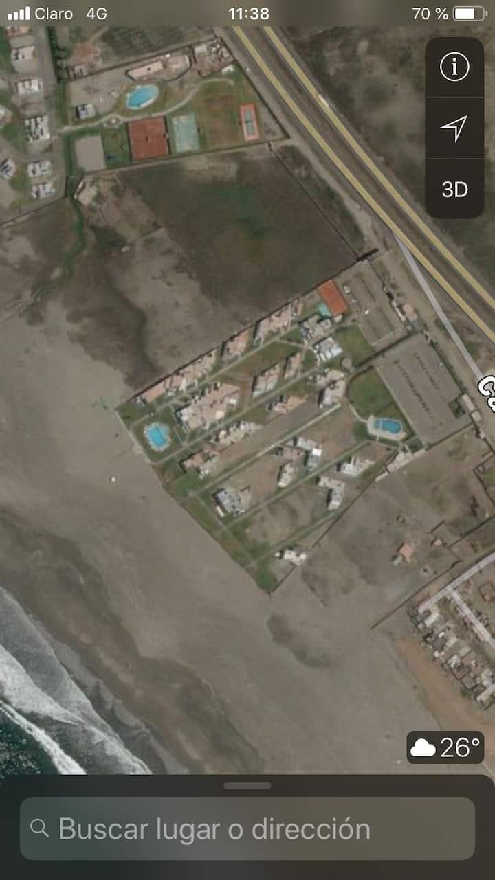 Casa de playa, Condominio  Moravia 2 L17 PSur km89
