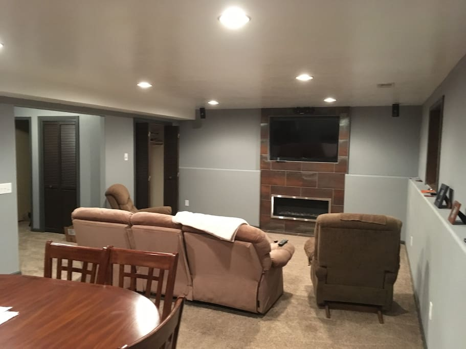 Newly Finished Basement Privacy And Comfort Houses For Rent In Sioux Falls South Dakota