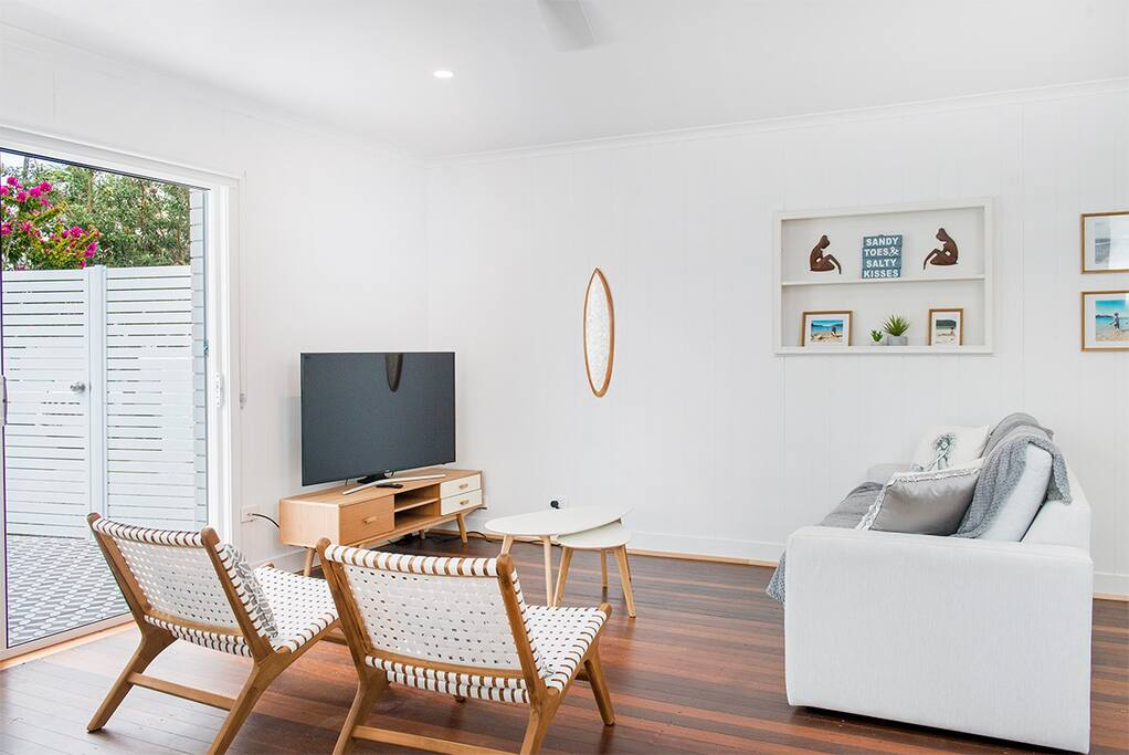 Light & Breezy Living Area