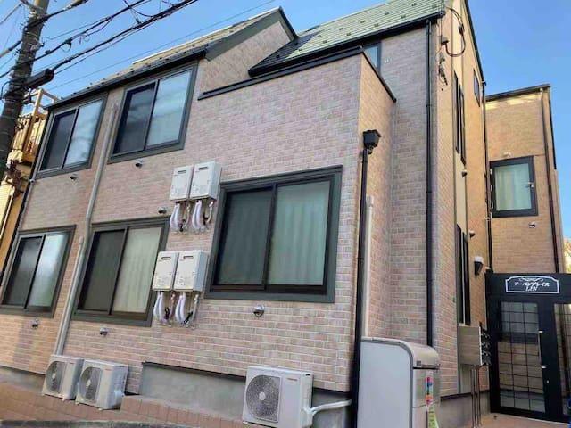 4分钟直达新宿新建旅馆Urban place 203