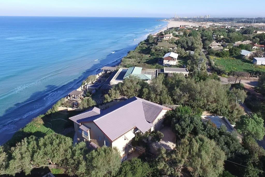 Aerial View of Beit Yanai