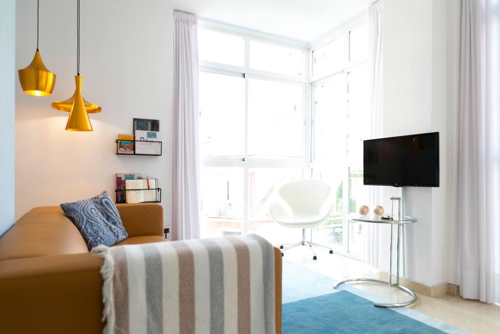 * Comfortable Salon * Comfortabele zithoek * Salón cómodo