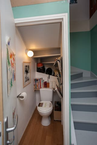 toilette bas