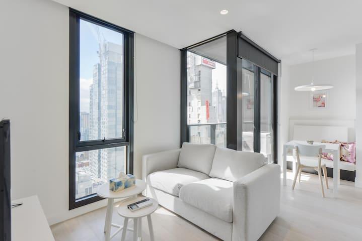 Cosy 2BR apartment in Melbourne CBD